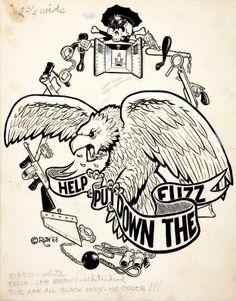 Drawn rat cave Art Big