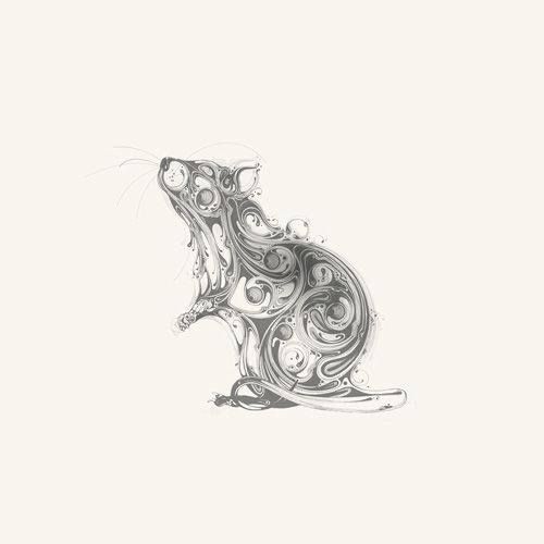 Drawn rat creepy Images best Mouse Art Rat