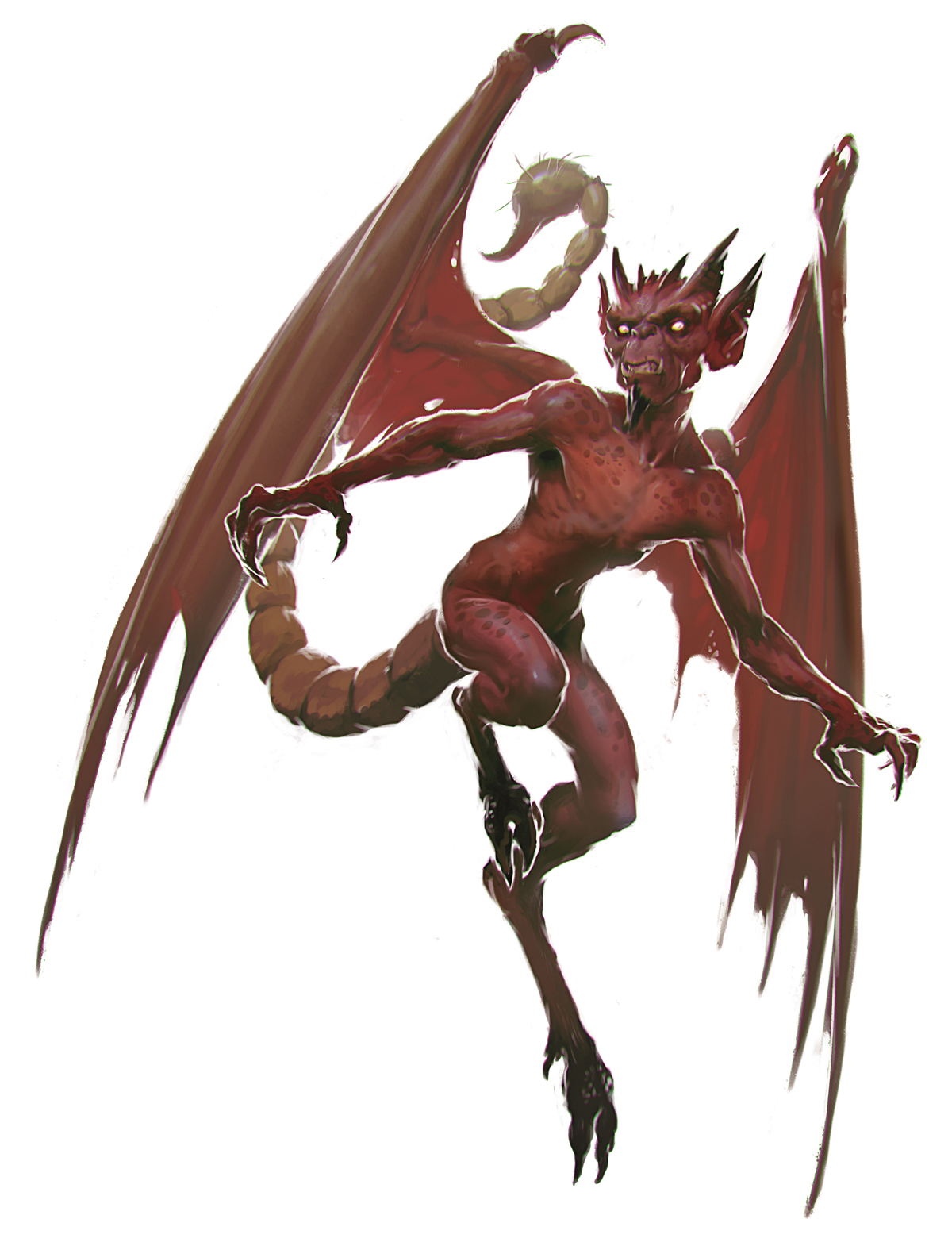 Drawn rat d&d Devil Art Imp Manual) Imp