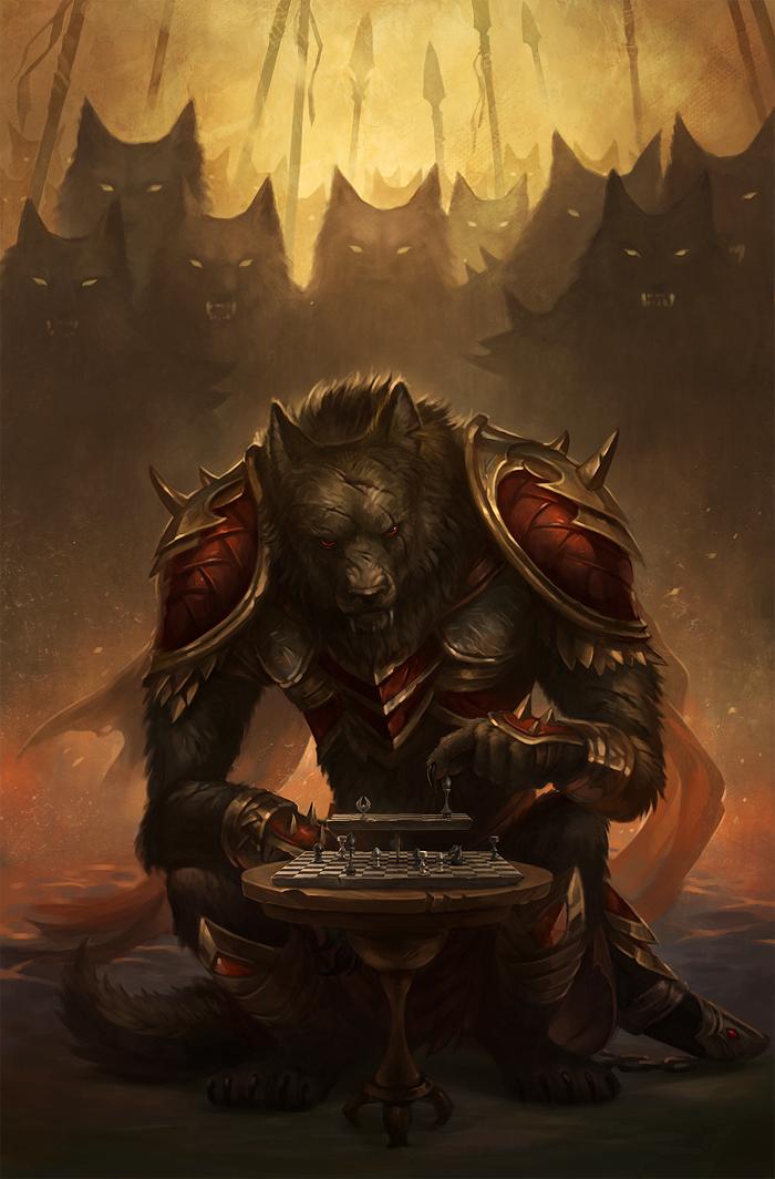 Drawn rat d&d Beastly Wulven Race Pinterest –