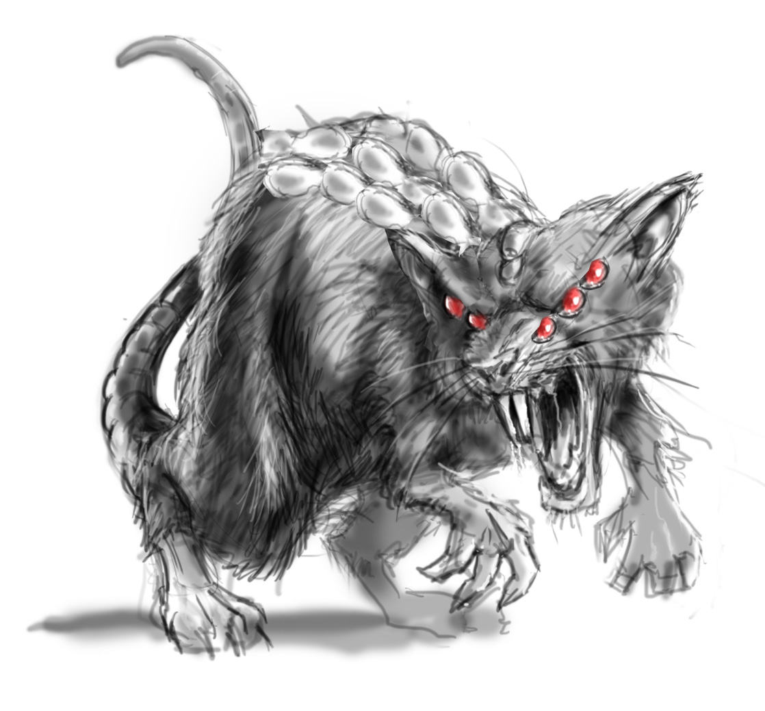 "Drawn rat demonic Dungeons "" dragons for of"