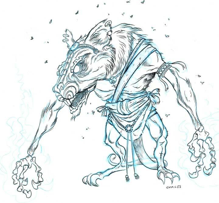 Drawn rat demonic Concepts Rat Sean Empire Demon
