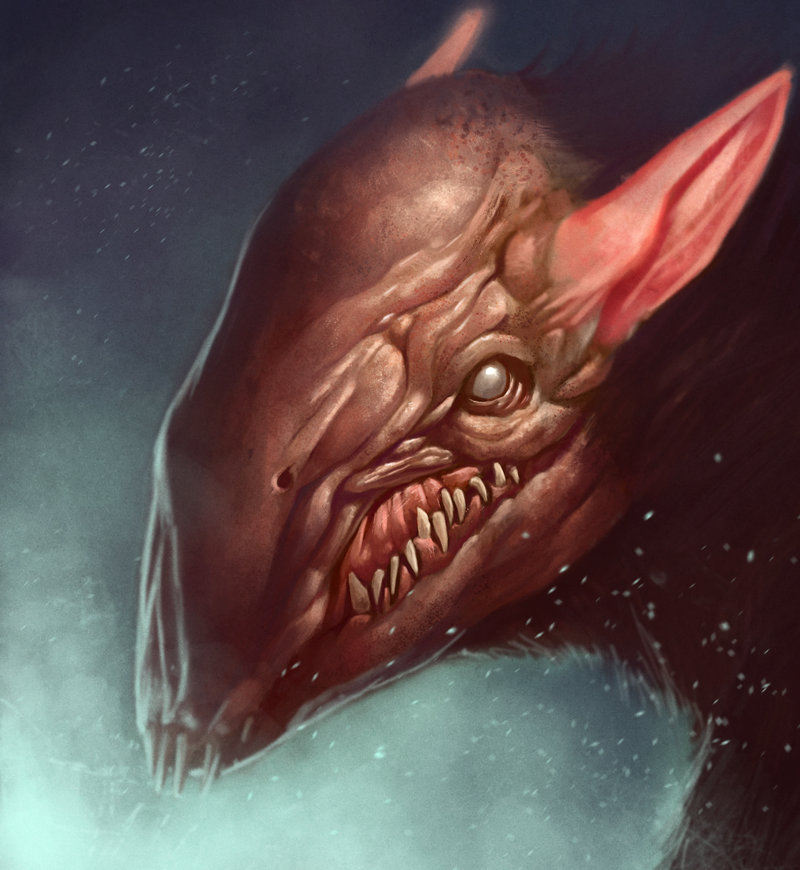 Drawn rat demonic Are are not We like
