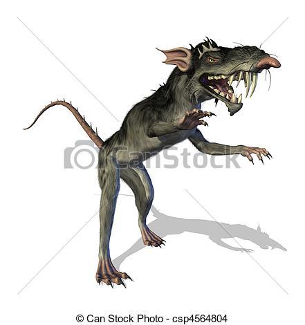 Drawn rat demonic Is evil Demonic rat Demonic