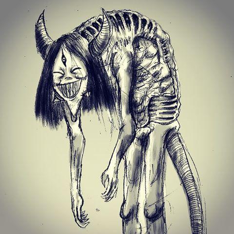 Drawn rat demonic Tho name ish myself and