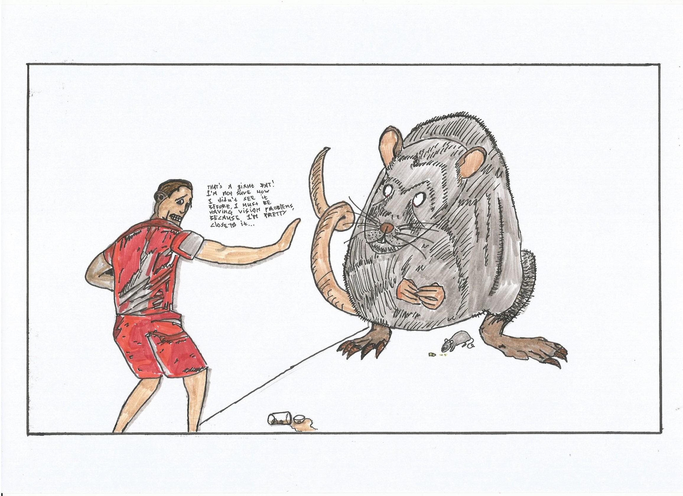 Drawn rat famous STREAMER drawn) shitty (he's A