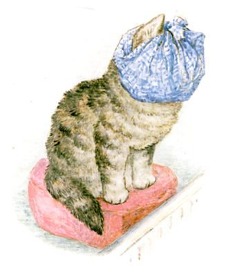 Drawn rat miss Moppet up her Potter 462
