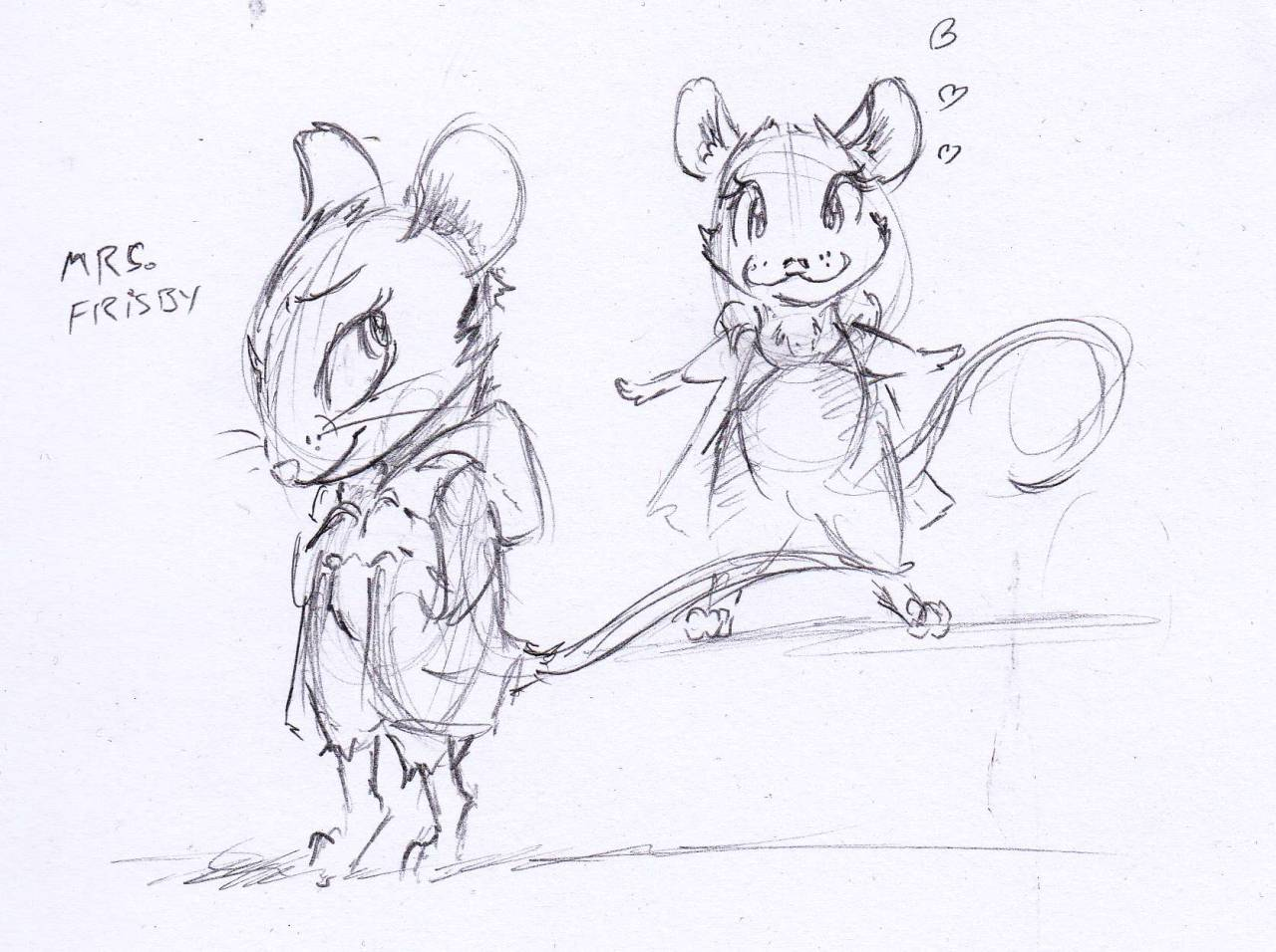 "Drawn rat mrs frisby The Frisby Frisby Mrs ""Mrs"