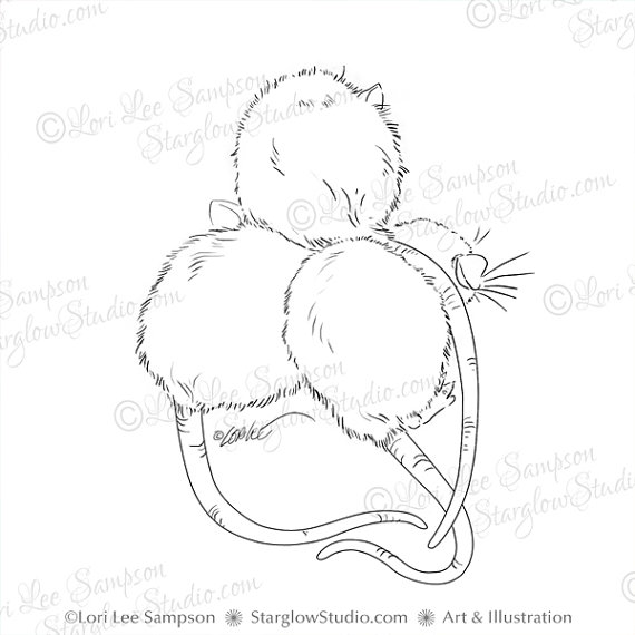 Drawn rat pet rat Digital Sketch Rat Pet Rattie