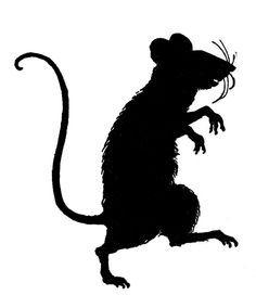 Drawn rat shadow Fairy Search rat and Vintage