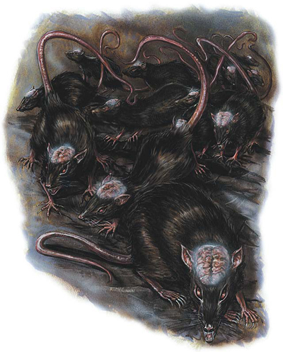 Drawn rat swarm – Cranium Rats Week: the