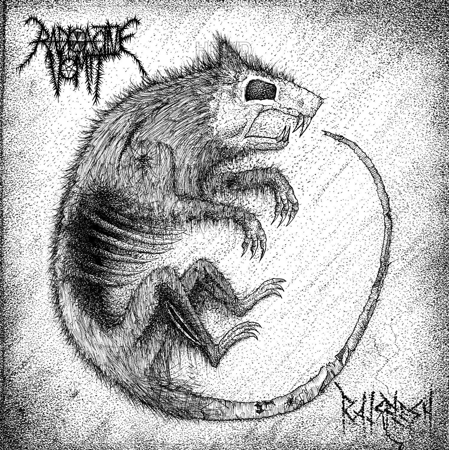 Drawn rat vomit Radioactive Review  Vomit Metal