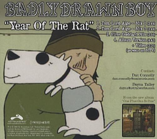 Drawn rat year Rat Of The single US