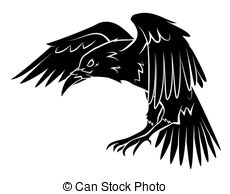 Drawn raven Raven Raven Drawingby free royalty
