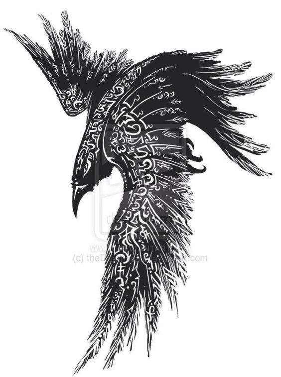 Drawn raven angry 20+ Best tattoo Pinterest ideas