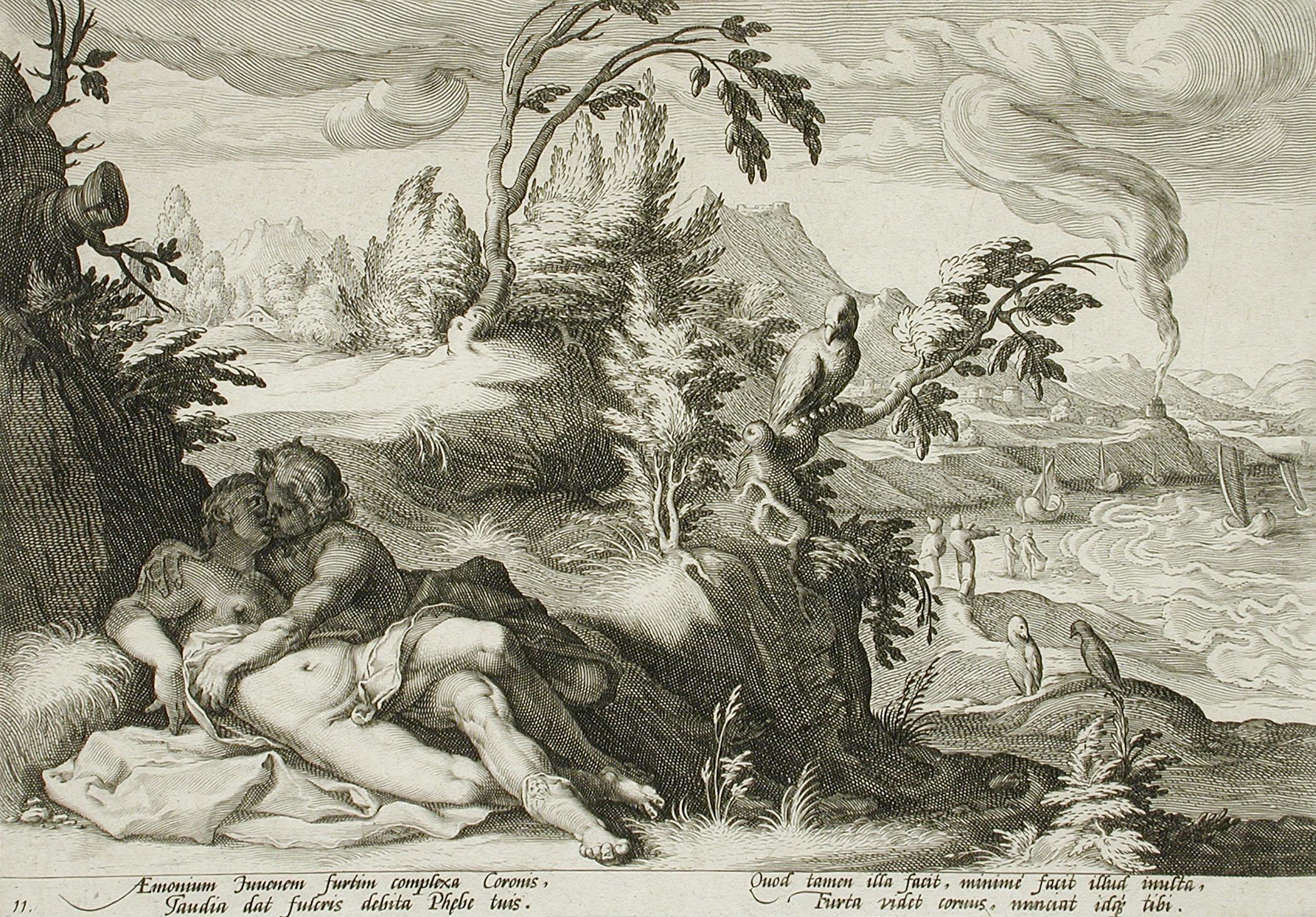 Drawn raven apollo Linnea Raven; Coronis; Lovers Palace