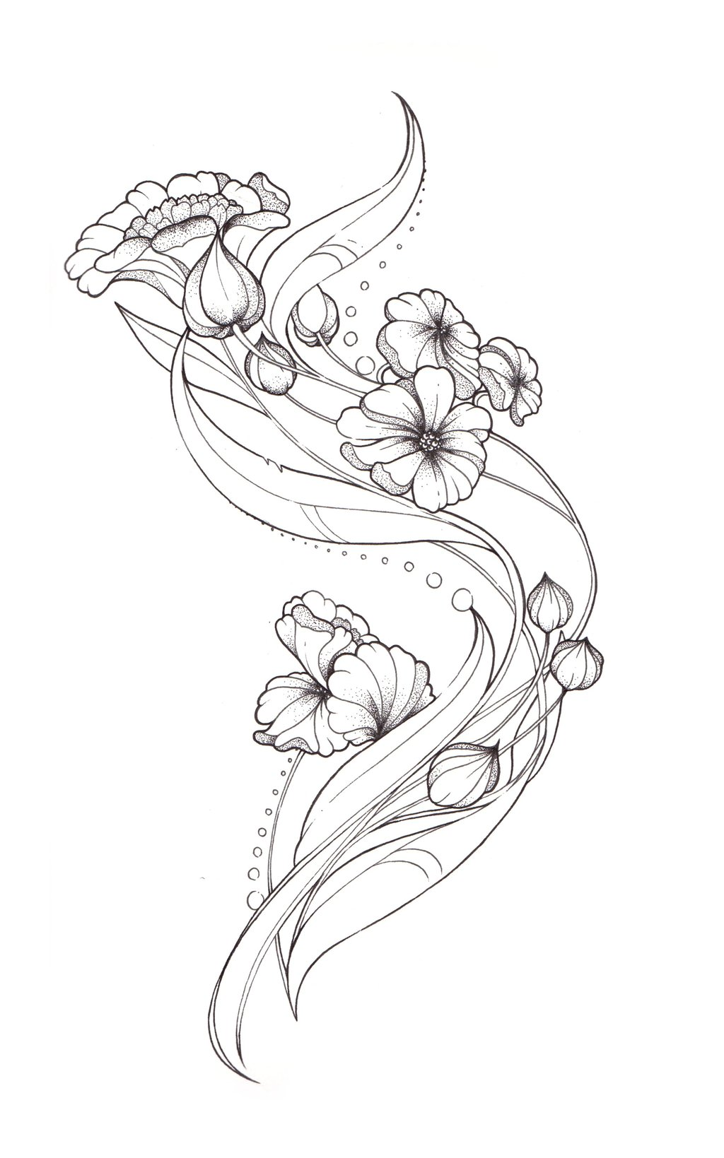 Drawn raven art deco Nouveau on ~Tegan Art Art
