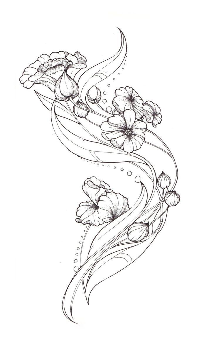 Drawn raven art nouveau Nouveau by design ~Tegan Tattoo