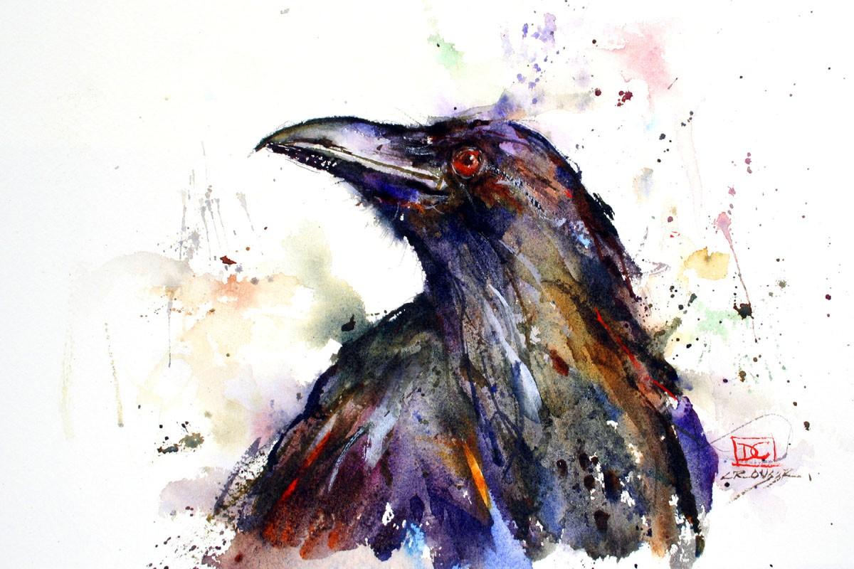 Drawn raven art nouveau RAVEN Dean By Crouser Watercolor