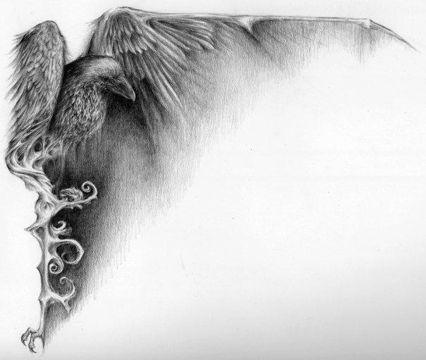 Drawn raven art nouveau ARTISTS 4 know the like
