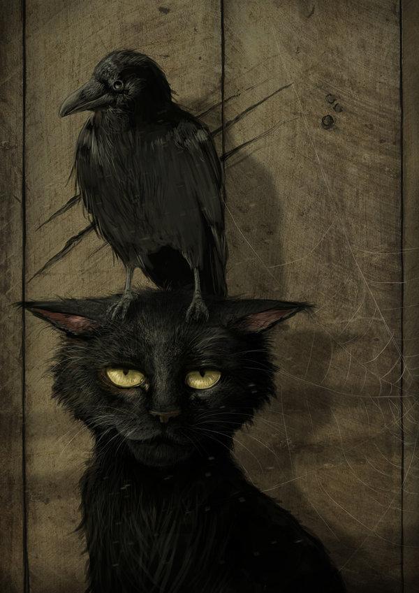 Drawn raven artistic De 2 albums : Opus