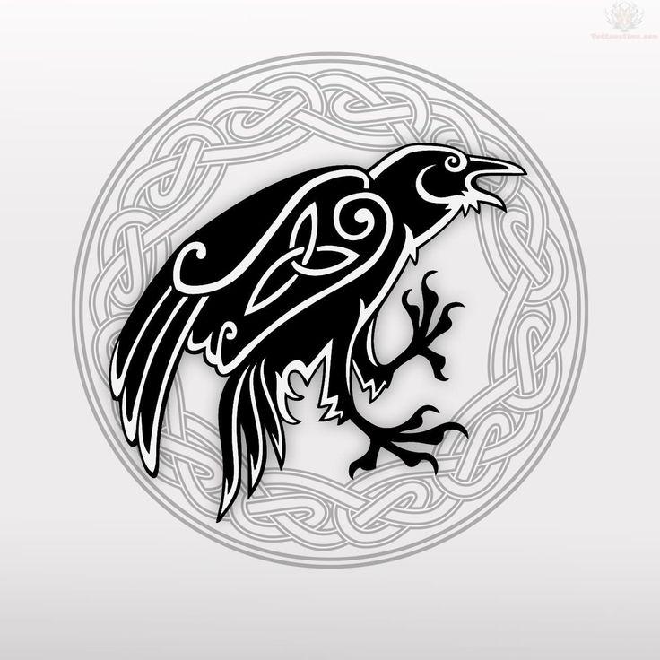 Drawn raven celtic Pinterest Celtic raven Best 25+