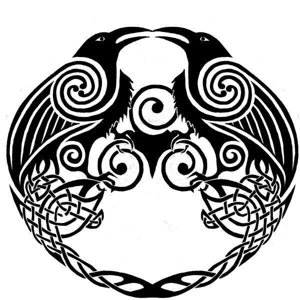 Drawn raven celtic On Pinterest images 1280 raven