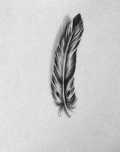 Drawn raven charcoal A Light As Original drawing