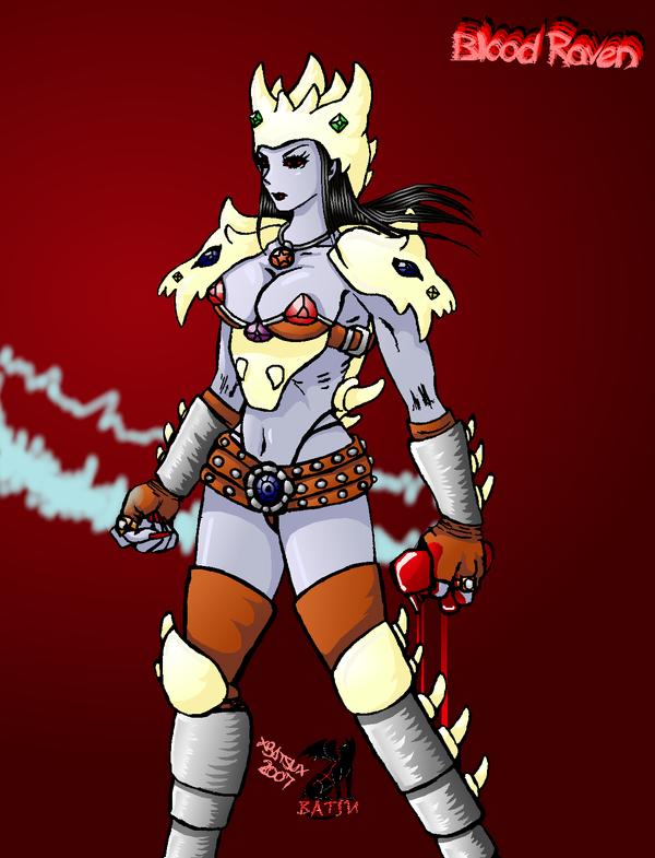 Drawn raven diablo Diablo Blood XBatsuX DeviantArt XBatsuX