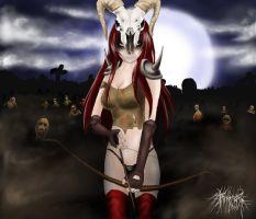 Drawn raven diablo Blood by Diablo DeviantArt Raven)