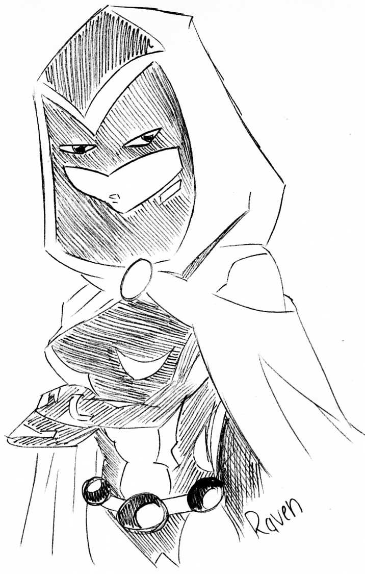 Drawn raven face Teen SorrowfullRaven Raven DeviantArt Teen