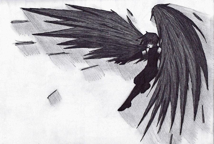 Drawn raven flight drawing Raven Flight SpyMars DeviantArt on
