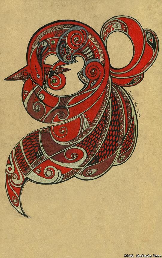 Drawn raven fox By WhiteRaven90 Fox DeviantArt Nine