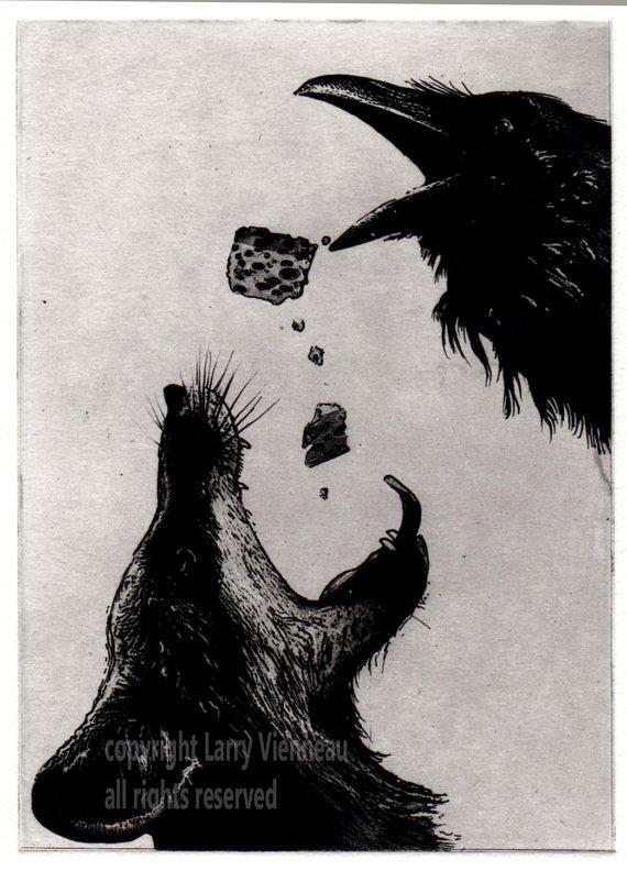 Drawn raven fox Assorted Book black 2014 Raven