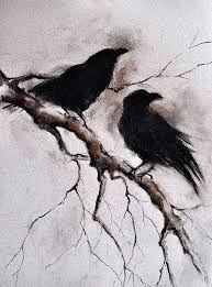 Drawn raven gothic  Gothic ORIGINAL skeleton Drawing