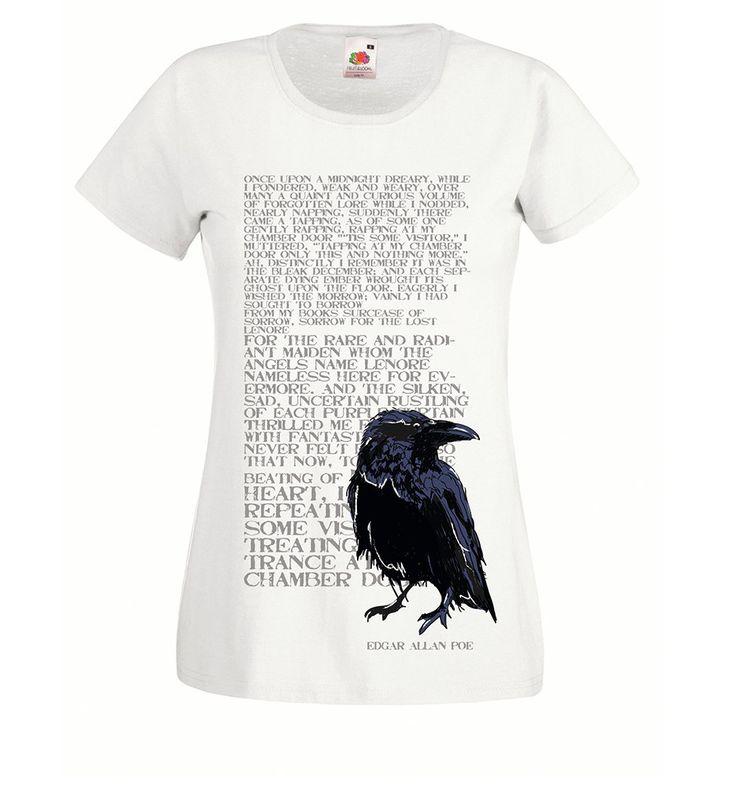 Drawn raven halloween Poem Poe Raven Pinterest white
