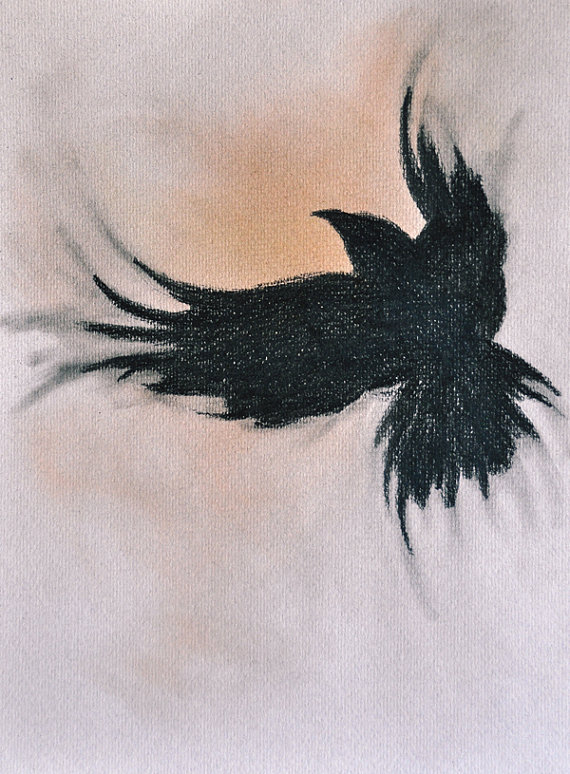 Drawn raven halloween Beautiful!! this the this Flying