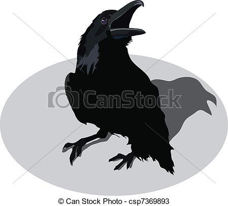 Drawn raven head Raven Clip ingaclemens11/405; 328 2