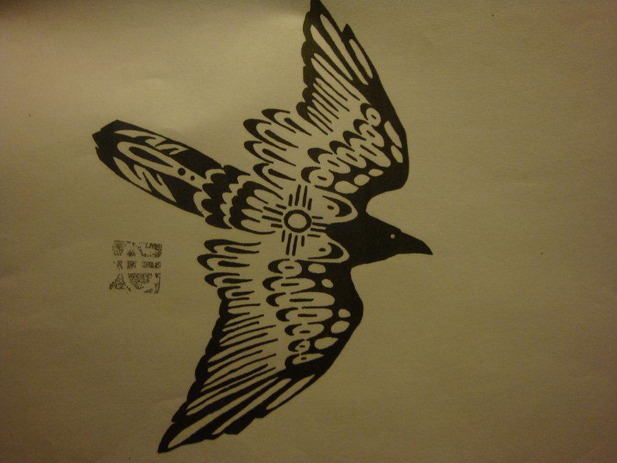 Drawn raven hippie chick Raven on Raven raven by