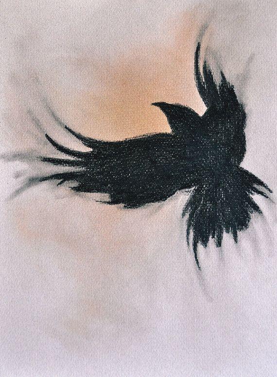Drawn raven hippie chick Love