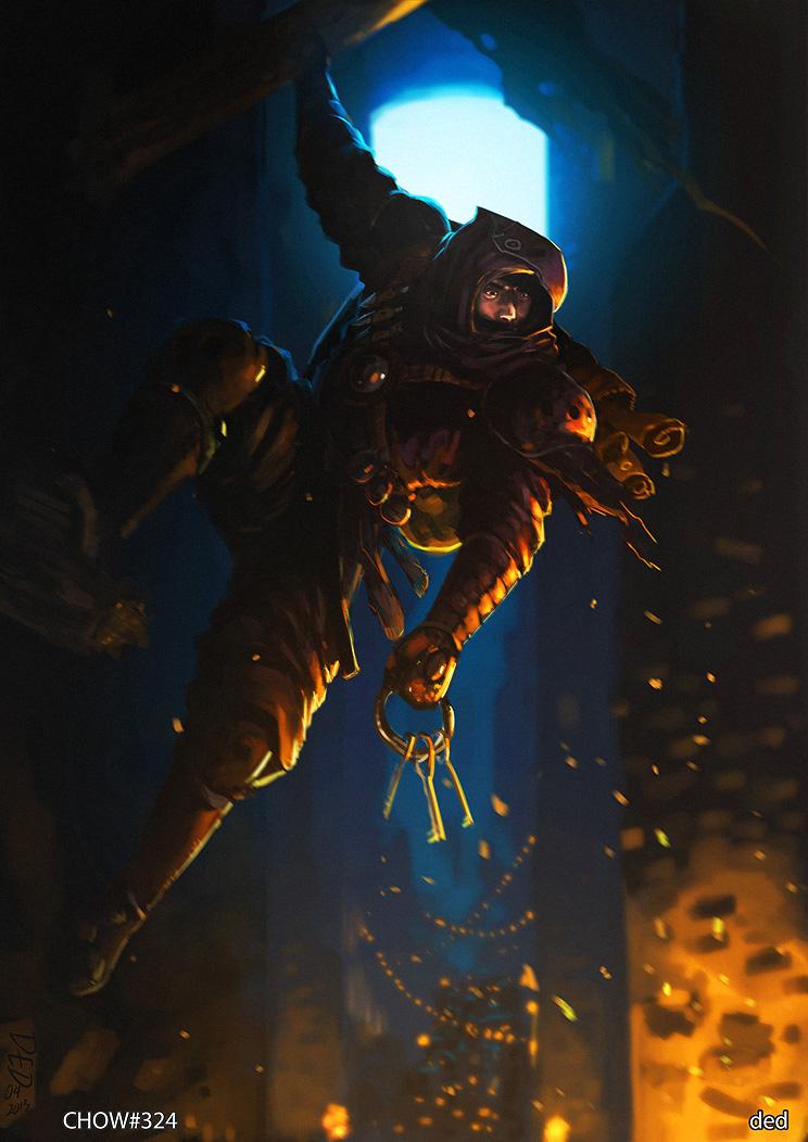 Drawn raven humanoid DeviantArt ish unded  on