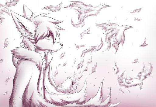 Drawn raven humanoid Raven humanoid favourites feelings by