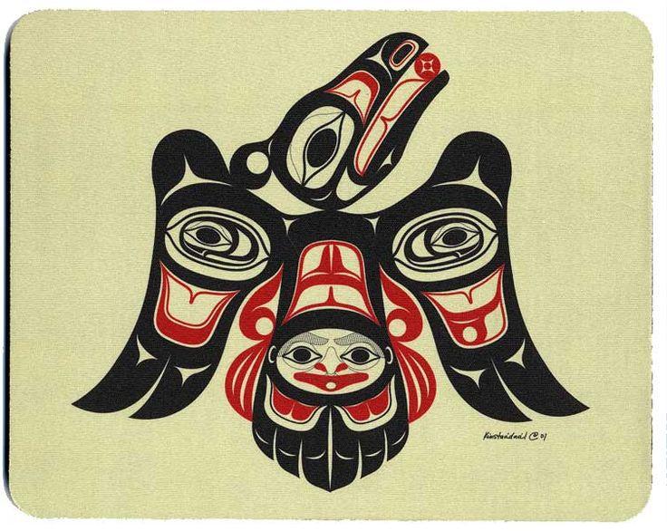 Drawn raven inuit Haida Raven best Pinterest about