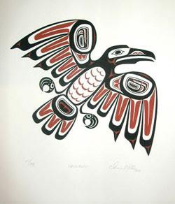 Drawn raven inuit / More  More At