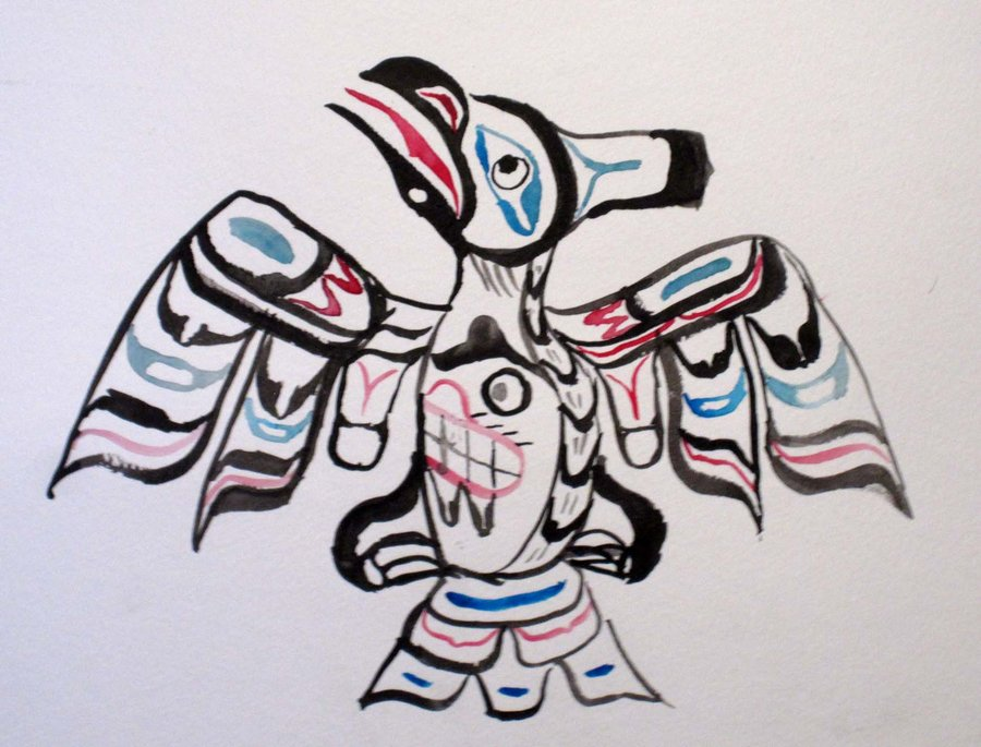 Drawn raven inuit Raven Inuit by on Fatal