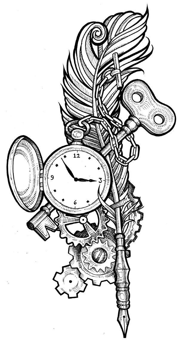 Drawn raven key D66r63u Search steampunk_clockwork_raven_wip_by_ephygenia Google