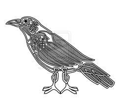 Drawn raven knotwork Knot Celtic+Knot+Raven+by+Jongleur SCA  com+