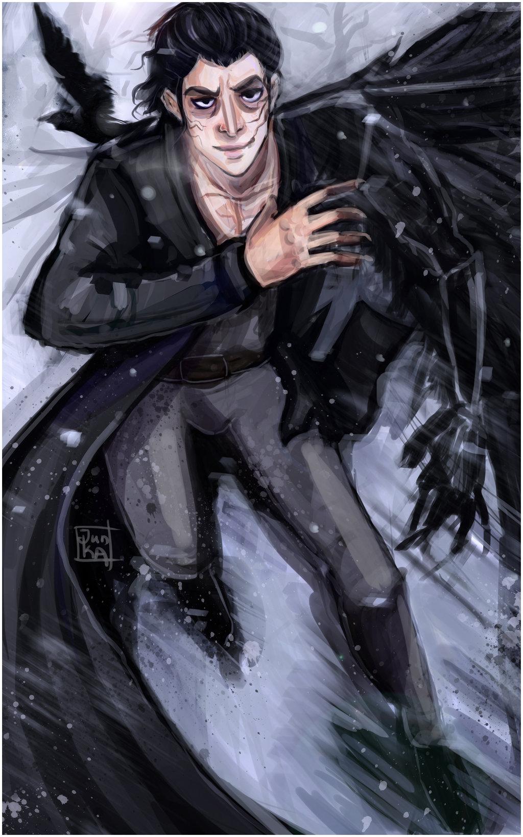 Drawn raven maleficent Maleficent Maleficent on by DeviantArt
