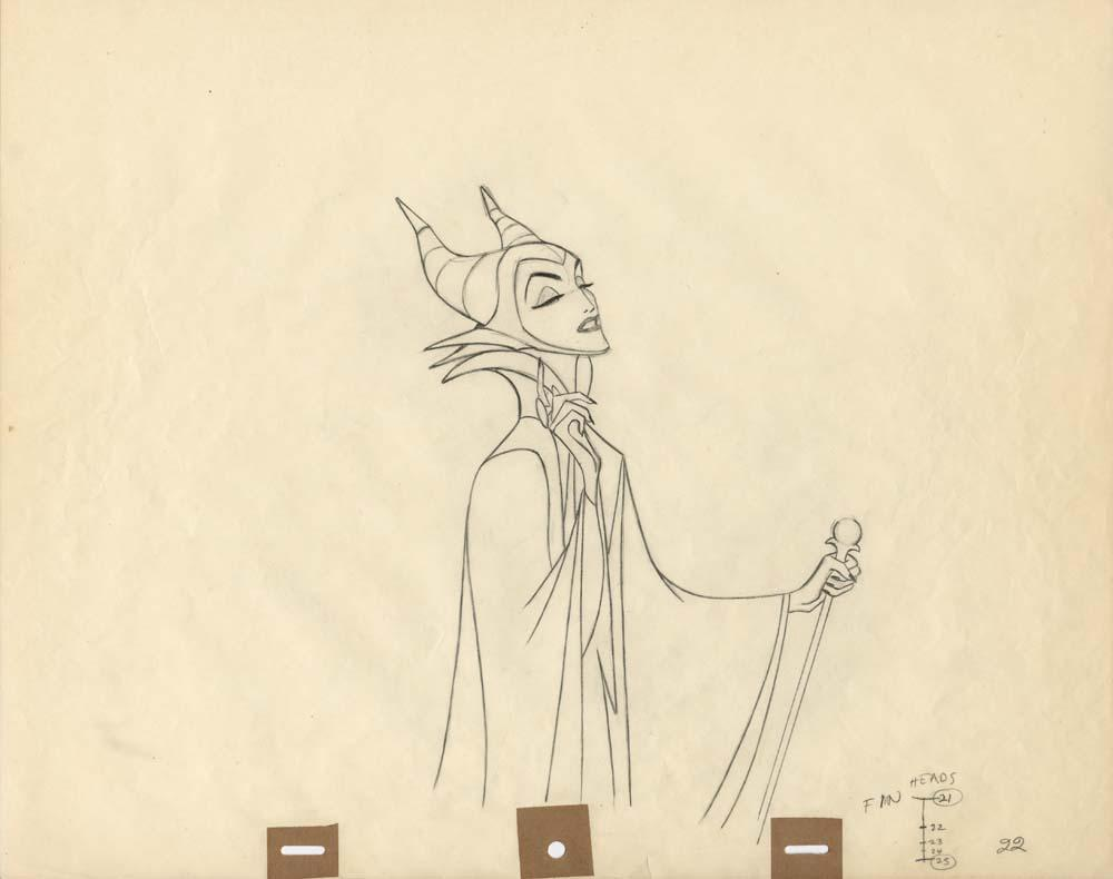 Drawn raven maleficent – and in Drawing