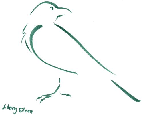 Drawn raven minimalist 1 sidneyeileen by Min by